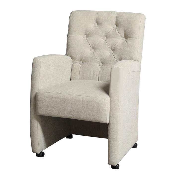 Stoelen op wieltjes perfect stoel vince with stoelen op for Eetkamerstoelen landelijk outlet