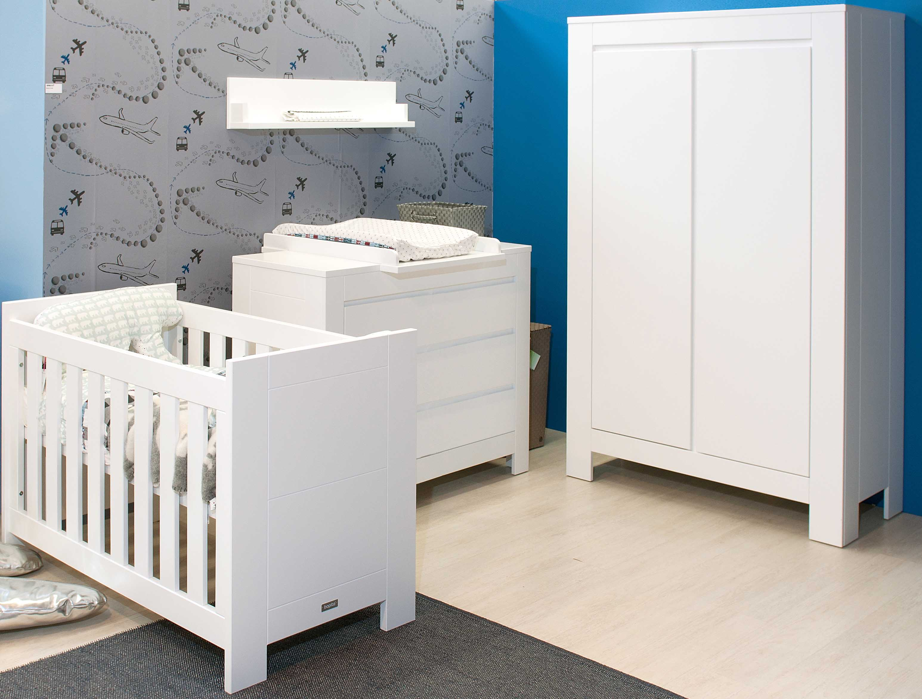 Bopita basic wood tienerkamer interieurs de meubelberg - Modern bed volwassen ...