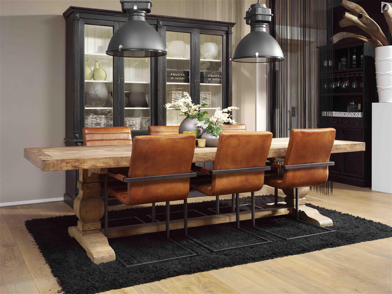 Eleonora lifestyle interieurs de meubelberg for Eettafel stoelen cognac